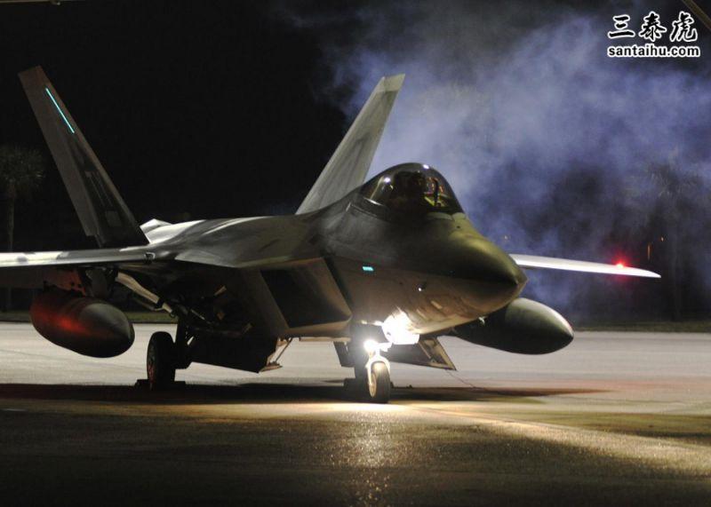 """幸运飞艇彩票空军F-22""""猛禽""""战机"""