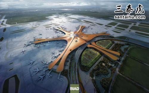 北京新机场效果图