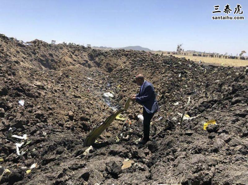 埃塞俄比亚航空一架波音737max飞机坠毁