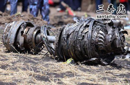 坠机事故,航空发动机残骸