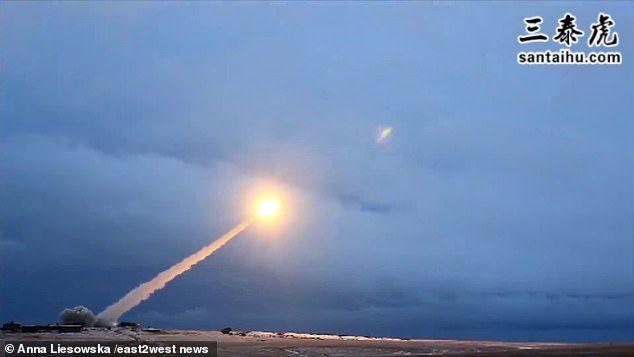 俄罗斯发射巡航导弹