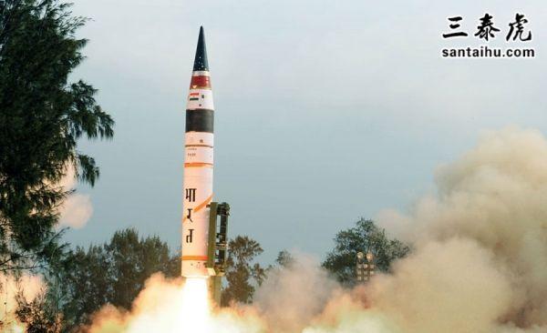 印度导弹发射