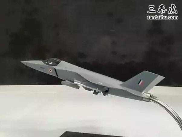 2017年印度航展上的AMCA模型机