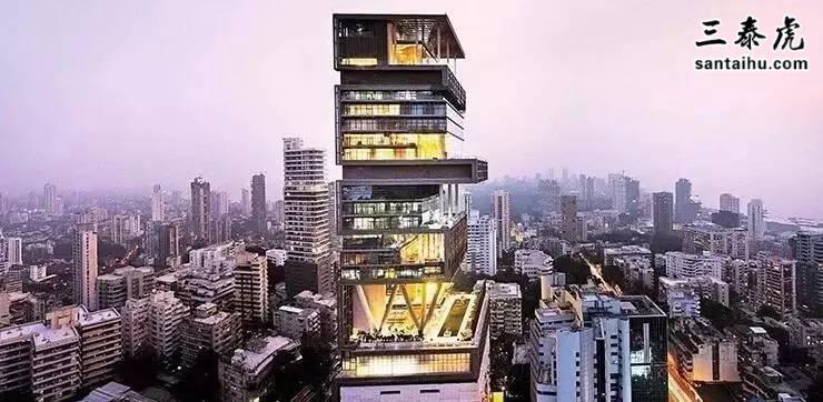 印度首富的豪宅