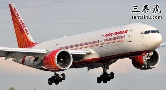 印度航空公司的客机