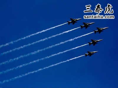印度共和国日阅兵,印度战机编队飞行