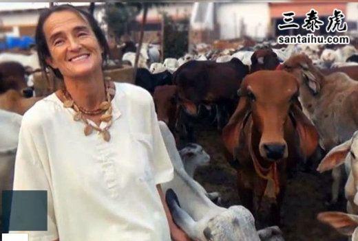 德国女子在开元棋牌APP养牛25年,被授予莲花士勋章