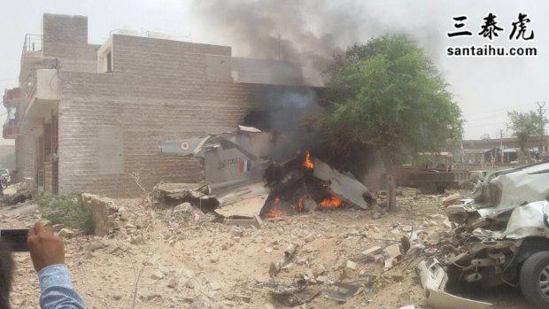 印度战机坠毁