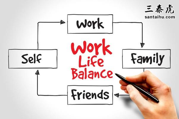 工作、家庭、朋友和自己