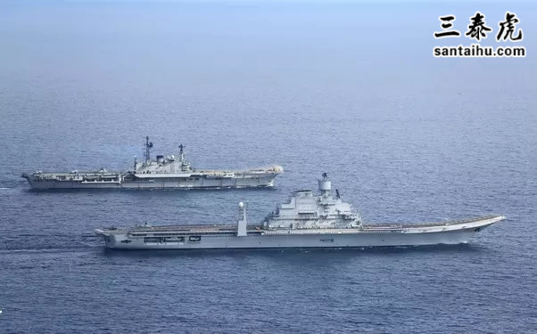 凤凰彩票两艘航空母舰,维克拉马迪亚号航母和维拉特号航母